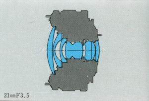 ZUIKO AUTO-W 21mm F3.5