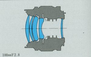 ZUIKO AUTO-T 100mm F2.8