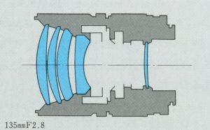 ZUIKO AUTO-T 135mm F2.8