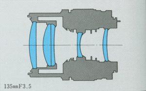 ZUIKO AUTO-T 135mm F3.5