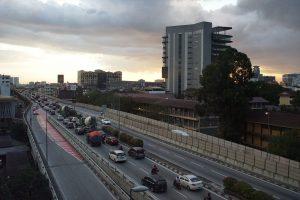 こちらもマレーシアのクアラルンプールへ続く高速道路にて